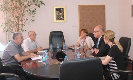 Šef misije OEBS-a posjetio Univerzitet