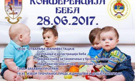 Konferencija beba 2017. Istočna Ilidža