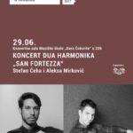 Danas koncert studenata Smjera za harmoniku Muzičke akademije Univerziteta u Istočnom Sarajevu u Nikšiću