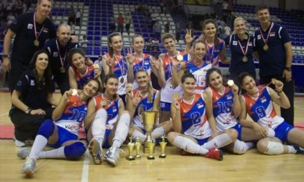 Srbija osvojila zlato na balkanskom odbojkaškom prvenstvu održanom na Palama