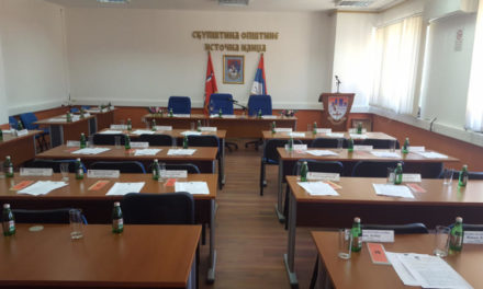 Zakazana 6. redovna sjednica Skupštine opštine Istočna Ilidža