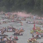 Dvadeset hiljada ljudi plovilo Drinom – VIDEO
