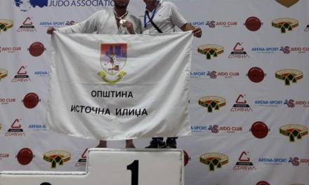 Džudista Famosa Nikola Mikavica, osvojio bronzanu medalju na Balkanskom prvenstvu