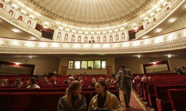 Rusko pozorište se zaledilo