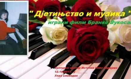 """""""Djetinjstvo i muzika"""" – igrani film Branke Vukosav"""