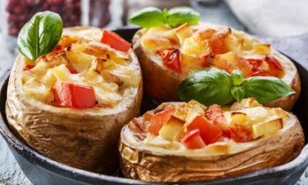 Pečeni krompir sa povrćem