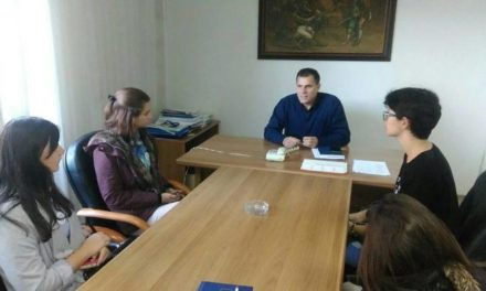 Posjeta srednjoškolaca opštini Istočna Ilidža