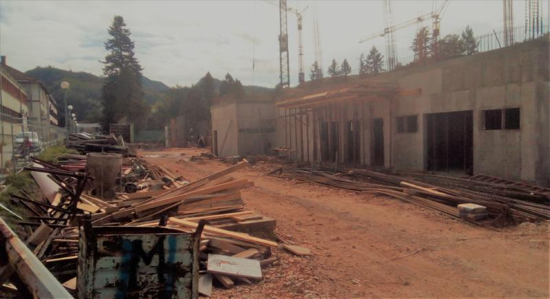 Radovi na novoj bolnici u Istočnom Sarajevu (VIDEO)