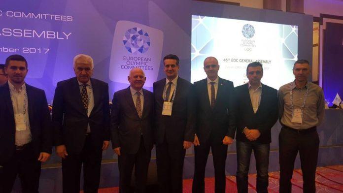 Održana Generalna skupština Evropskog olimpijskog komiteta
