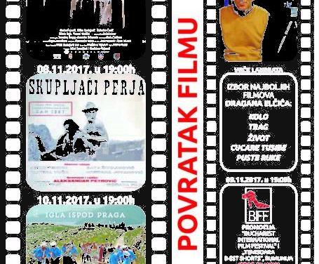 """11. Međunarodni filmski festival """"Prvi kadar""""- Pravi kadar 06- 10.11.2017."""