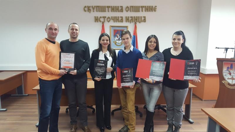 """Fondacija """"Mozaik"""" dodijelila zahvalnicu opštini Istočna Ilidža"""