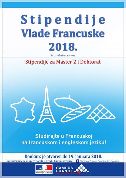 Stipendije Vlade Francuske