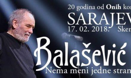 Đorđe Balašević u Sarajevu