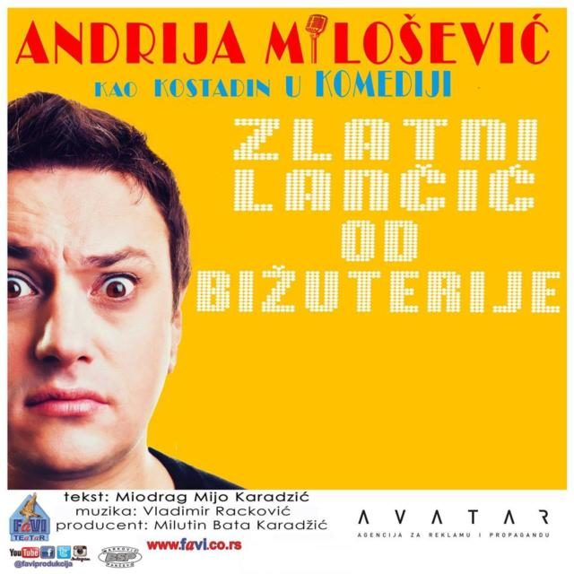 Andrija Milošević 8. marta u Sarajevu