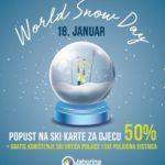Jahorina – popust na ski karte za djecu