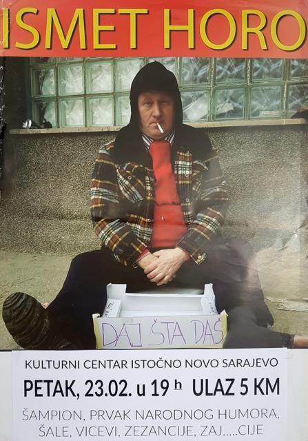 Ismet Horo u Istočnom Sarajevu