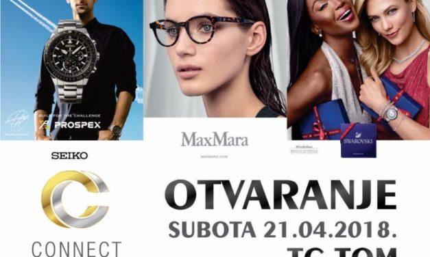 U subotu 21.04.'18. otvaranje renoviranog objekta Connect