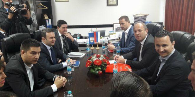 Gradonačelnik Trebinja posjetio opštinu Istočno Novo Sarajevo
