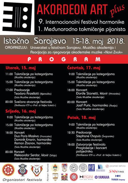 Počeo 9. Internacionalni festival AKORDEON ART PLUS u Istočnom Sarajevu