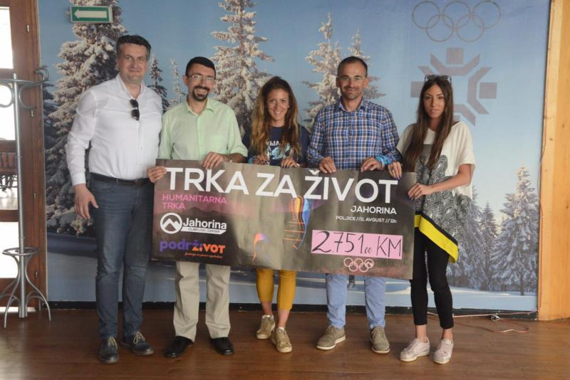 "Održana prva ljetna humanitarna ""Trka za život"""