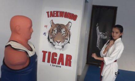 "Taekwondo klub ""Tigar"" I.Sarajevo vrši upis novih članova"