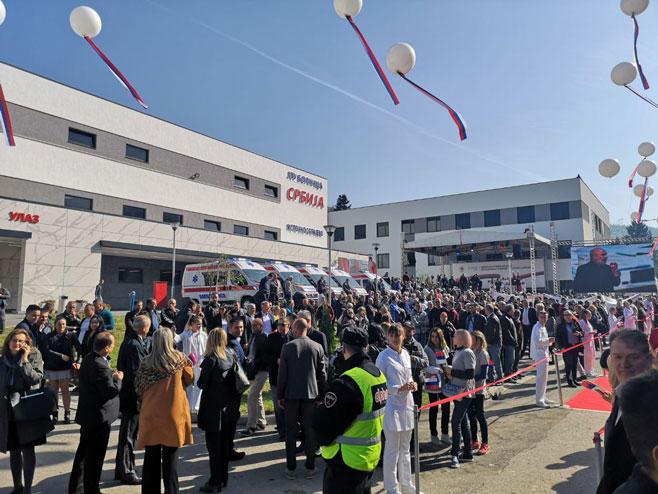 """Otvorena novoizgrađena bolnica """"Srbija"""""""