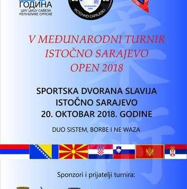 V Internacionalni turnir Istočno Sarajevo Open 2018.