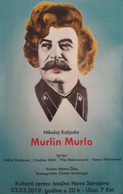 """Predstava """"Murlin Murlo"""" 3. mart Kulturni centar"""