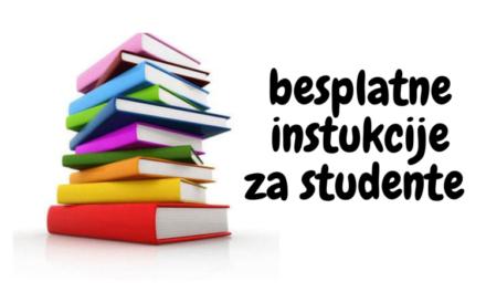Instrukcije za studente