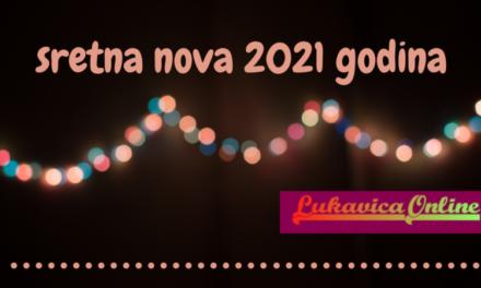 Sretna Nova 2021 godina