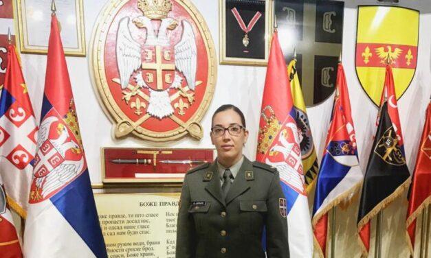 Paljanka Olja Jerkić: Ljubav prema uniformi i elektrotehnici spojila sam na Vojnoj akademiji