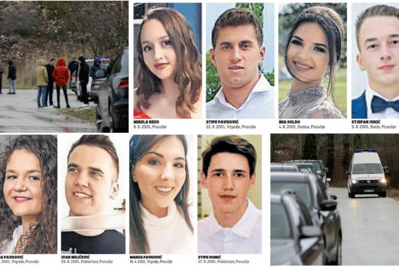 Stotine Posušaka u središtu grada zapalilo svijeće za osmero preminulih mladih