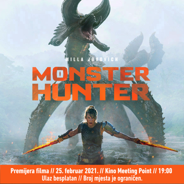 "Premijera SF spektakla ""Monster Hunter"" u kinu Meeting Point"