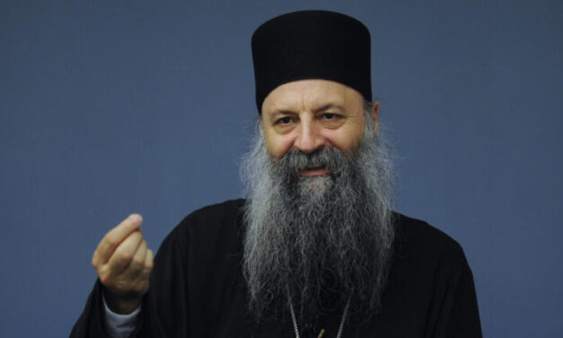 Mitropolit Porfirije novi patrijarh SPC
