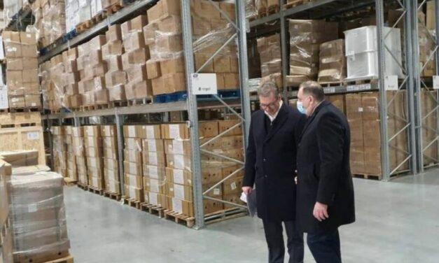 Dodik-Vučić: Građanima Srpske omogućeno liječenje u Srbiji