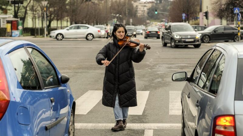Peruanka u Sarajevu zvucima violine uljepšava svakodnevnicu