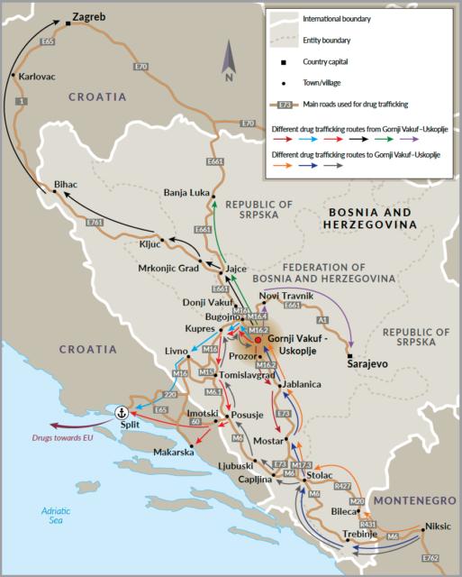 Gornji Vakuf-Uskoplje kao nevidljiva, ali važna tačka krijumčarenja droge