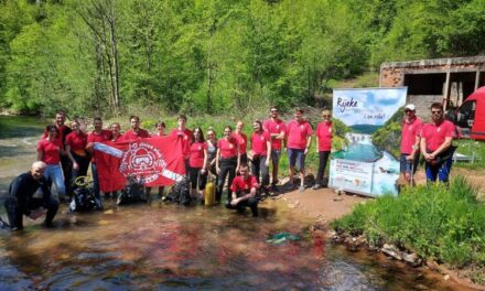 Henkel ponovo u akciji Zajedno za čiste vode BiH: Iz rijeke Miljacke kod Pala izvučeno više od 300 kg smeća