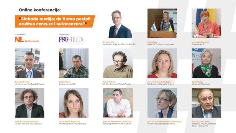 """Konferencija """"Pro Educe"""": Jačati slobodno novinarstvo bez cenzure i autocenzure"""