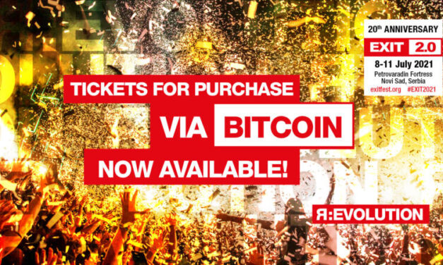 EXIT festival je prvi veliki festival na svijetu koji je omogućio plaćanje