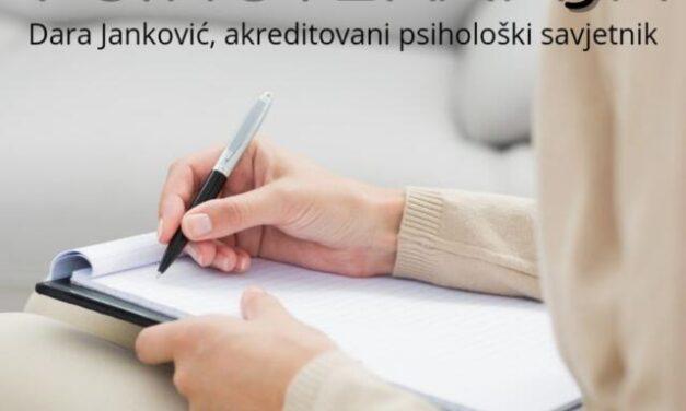 IZ UGLA STRUKE: Dara Janković, akreditovani psihološki savjetnik